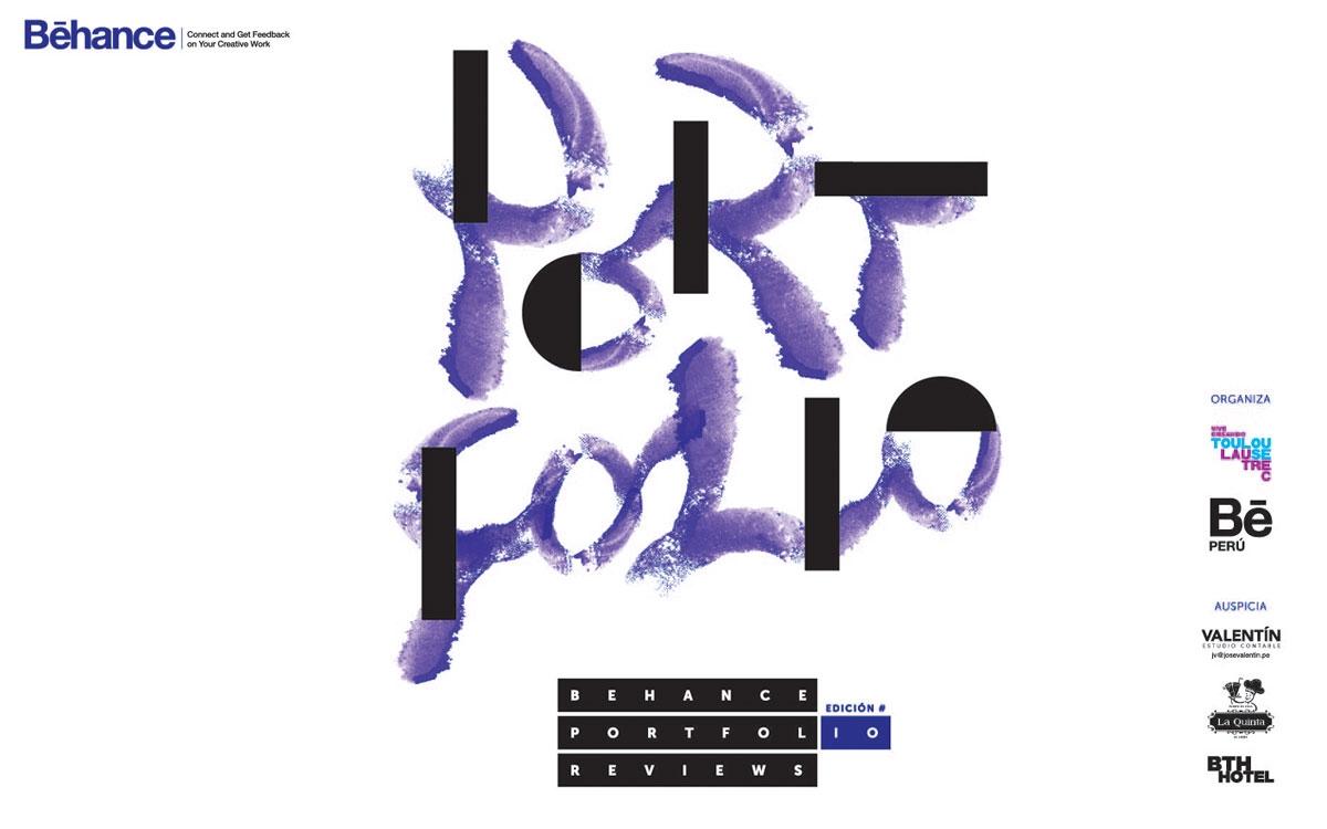 Toulouse Lautrec presenta Behance Portafolio Review