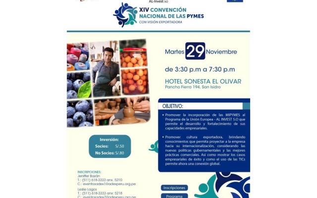 En búsqueda de la internacionalización de las Pymes: La XIV Convención Nacional de  Pymes