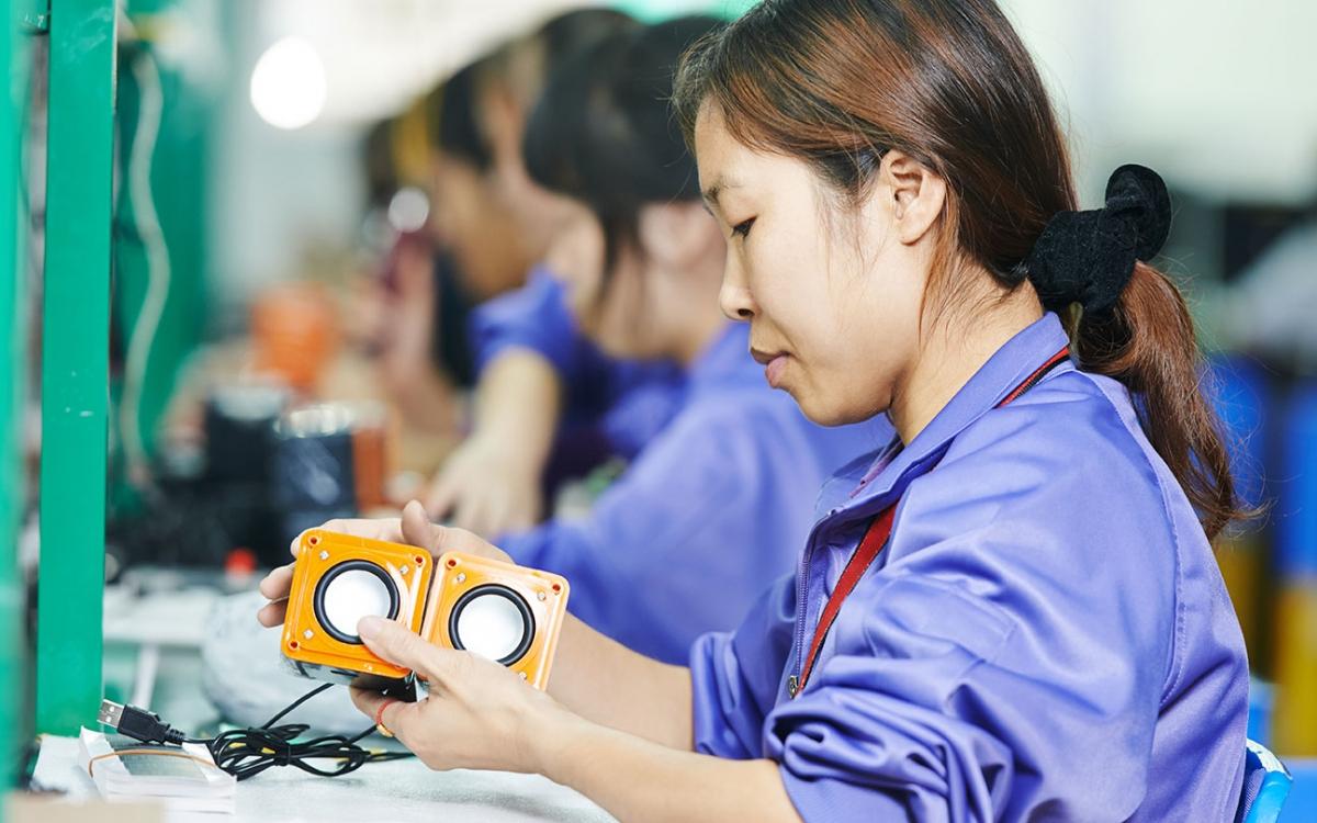 China la fábrica del mundo