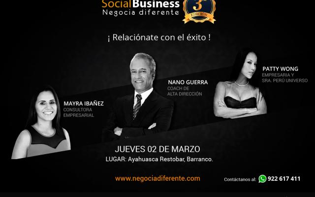 Evento reune a 250 empresarios con el objetivo de relacionarse
